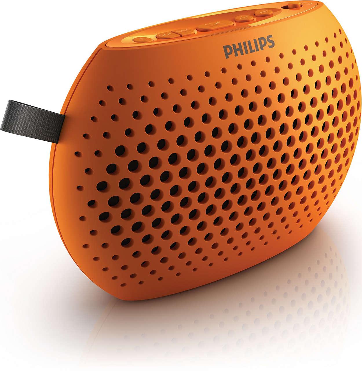 Uw alles-in-een draagbare luidspreker