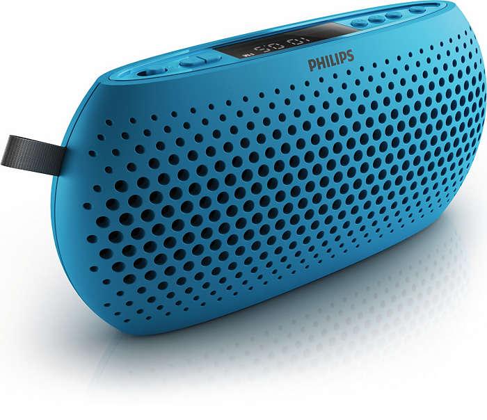 Din bärbara allt-i-ett-högtalare