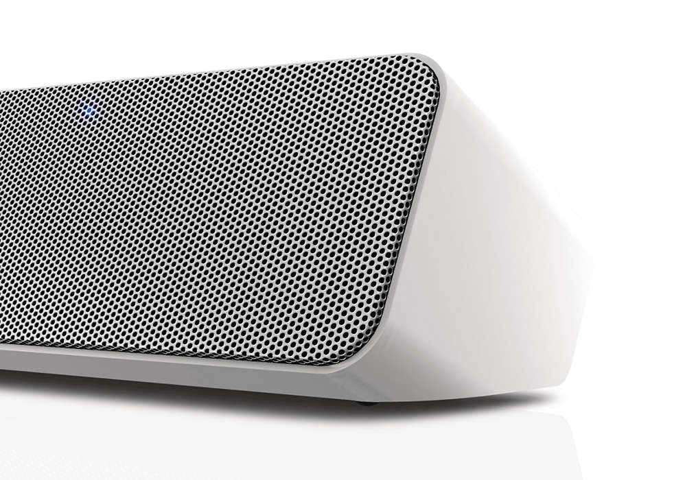 Kabelloser Bluetooth-Lautsprecher SBT550WHI/12 | Philips