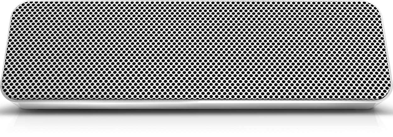 Głośnik Philips posiada całkowitą moc wyjściową 20 W RMS.