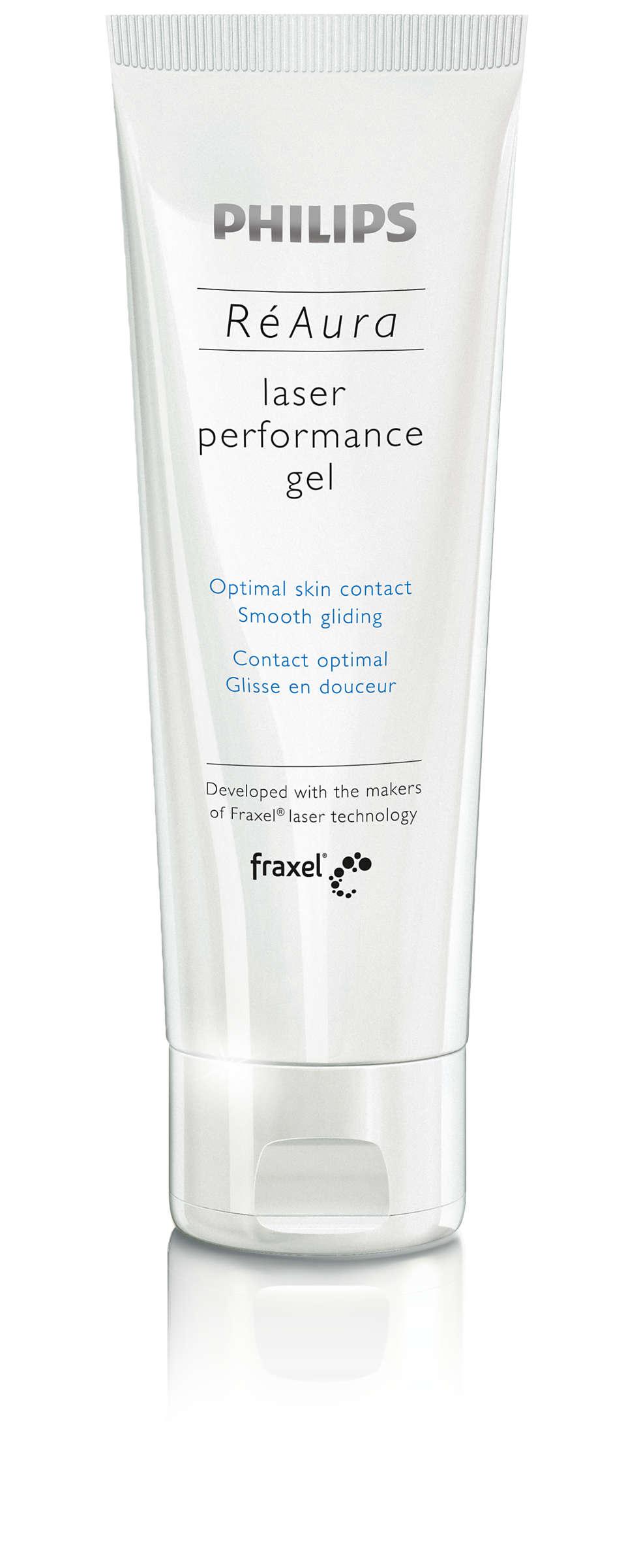 Contact optimal avec la peau et glisse en douceur