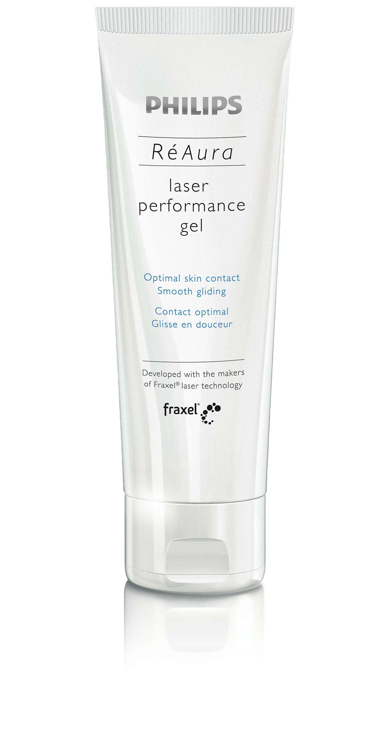 Optimal kontakt med huden och lättglidande