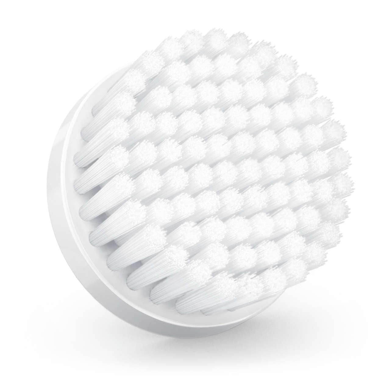 Cabezal de cepillado para piel normal