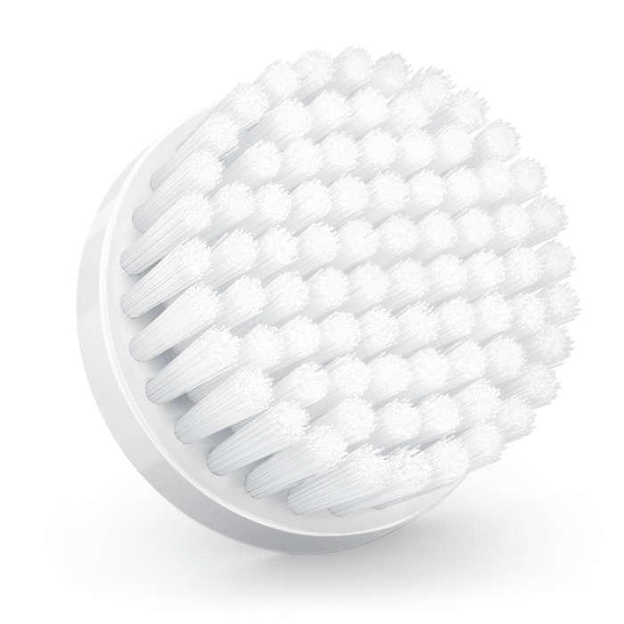 Vervangende opzetborstel voor de normale huid