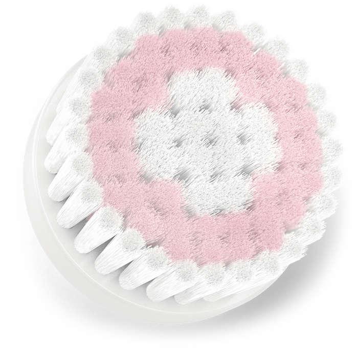 Cabeça de escova de substituição para pele sensível
