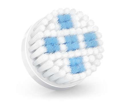 Cabezal de cepillado para una limpieza profunda de los poros