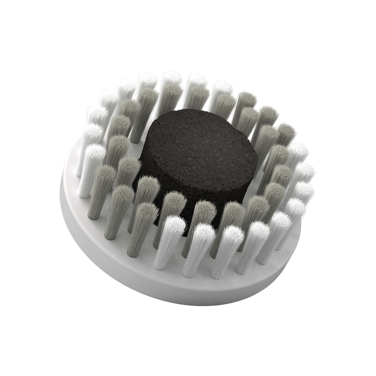 Anti-pollution cleansing brush