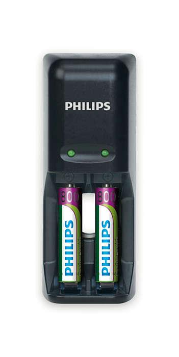 Plně nabijte baterie přes noc