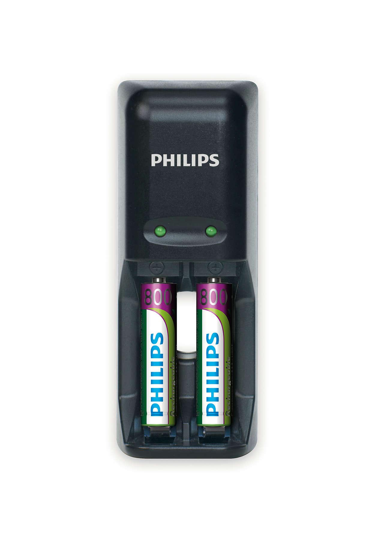 Încărcaţi complet bateriile peste noapte