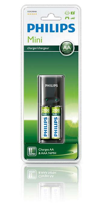 Laadt uw batterijen 's nachts volledig op