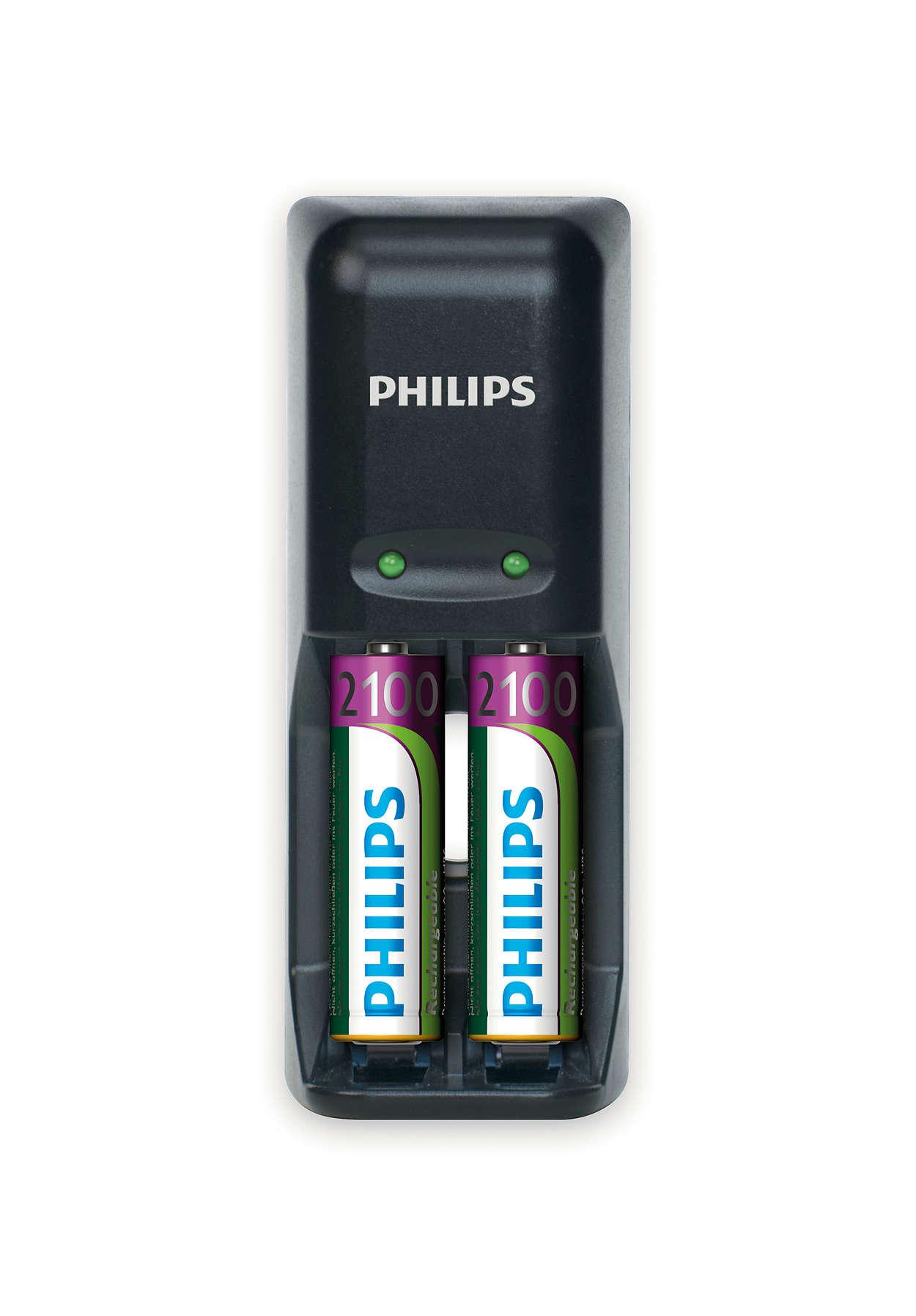 Visiškai įkrausite baterijas per naktį