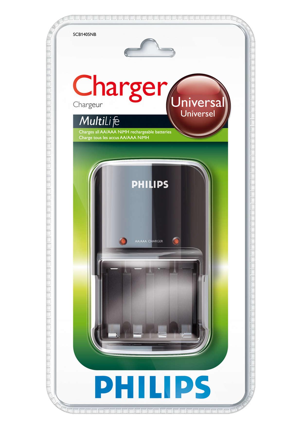 Plně nabije vaše baterie přes noc
