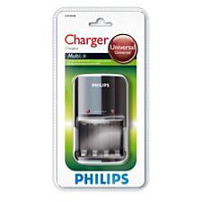 Батареи, зарядные устройства и фонари