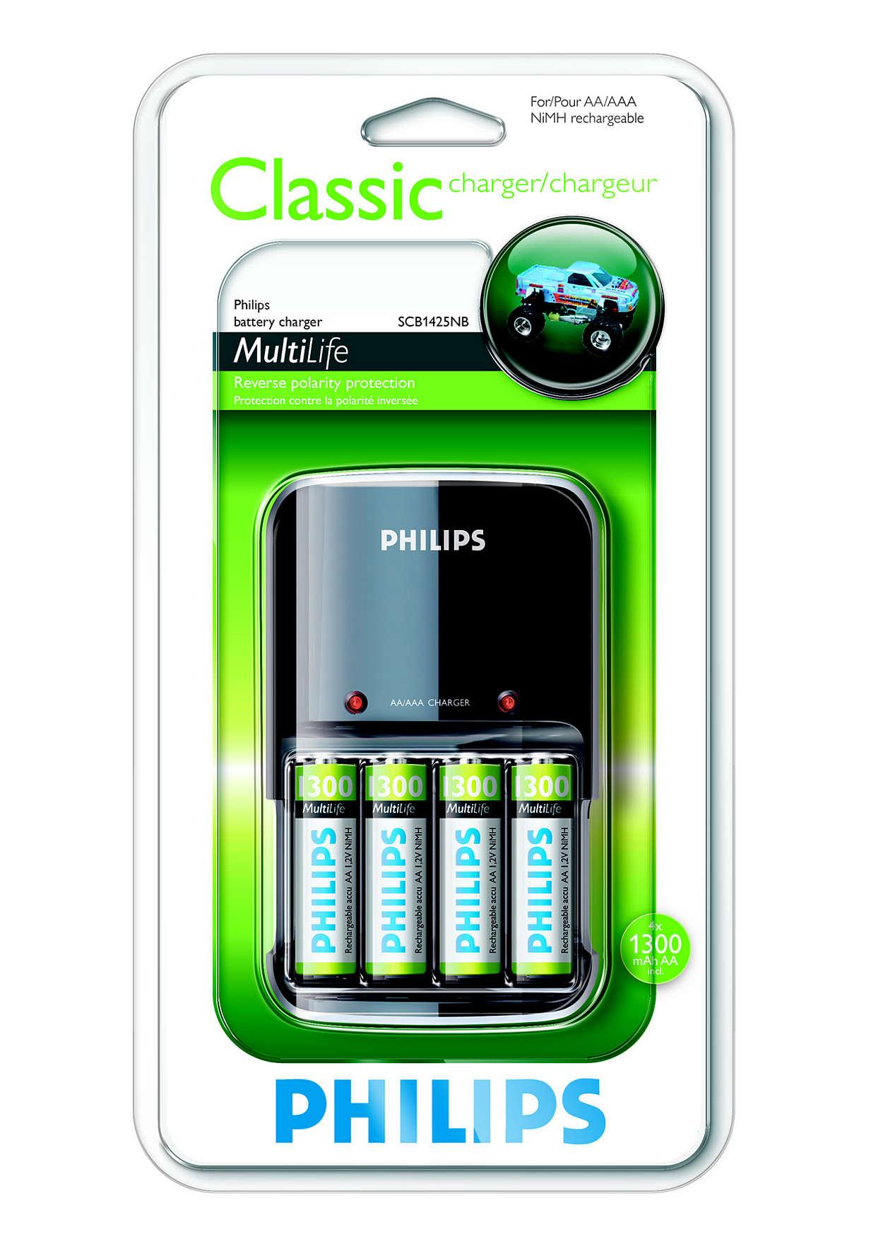 Oplader dine batterier fuldt i løbet af natten