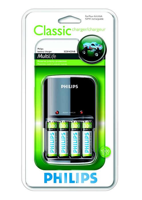 Recharge complète de vos batteries pendant la nuit