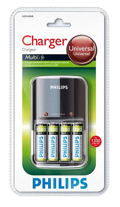 Oplader dine batterier i løbet af natten