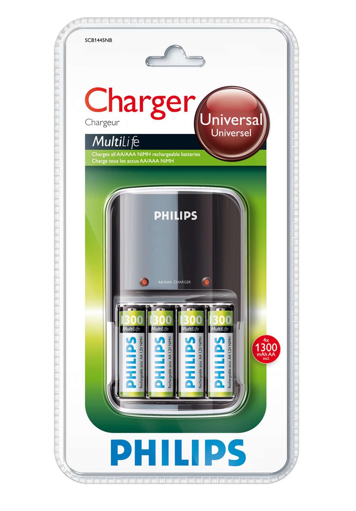 Visiškai įkrauna baterijas per naktį
