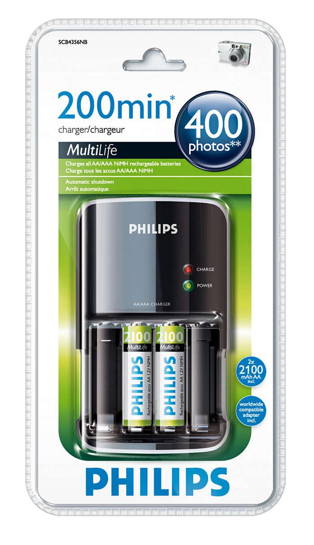 Зарежда напълно батериите за до 200 минути