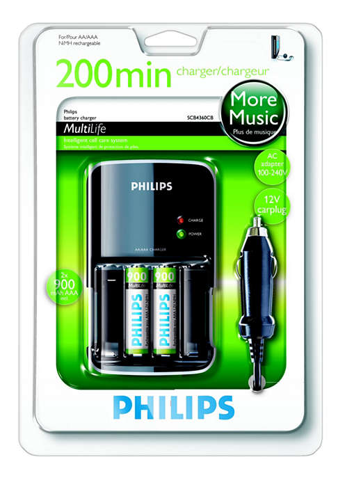 Încărcă bateriile complet în maxim 200 de ore
