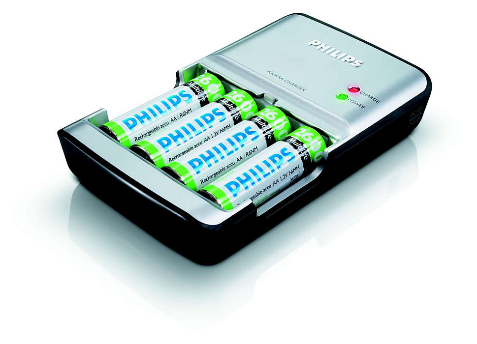 Πλήρης φόρτιση των μπαταριών σας σε 90 το πολύ λεπτά