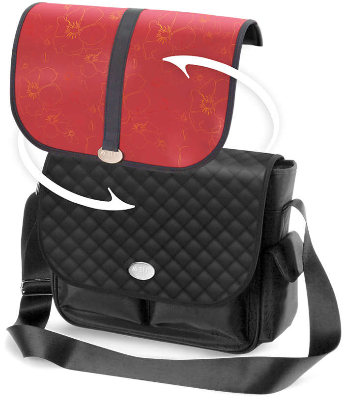 Una bolsa, dos estilos