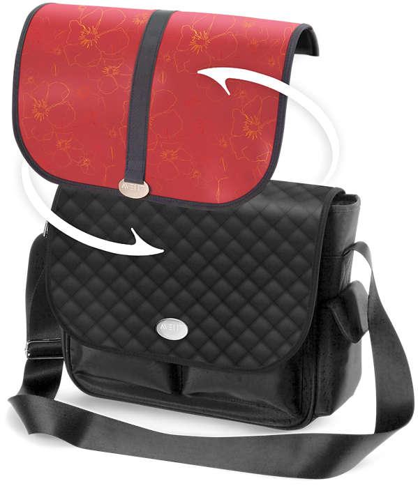 Egy táska, kétféle megjelenés