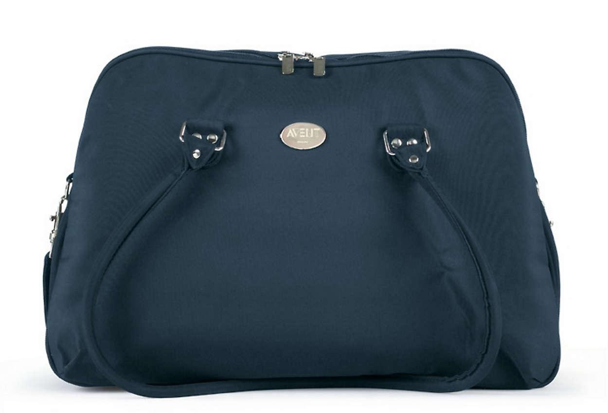 Elegante bolsa para fines de semana