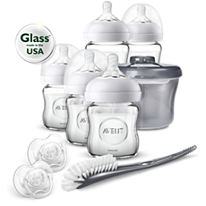 SCD201/00 Philips Avent Newborn Glass Starter Set
