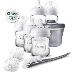 Avent Newborn Glass Starter Set
