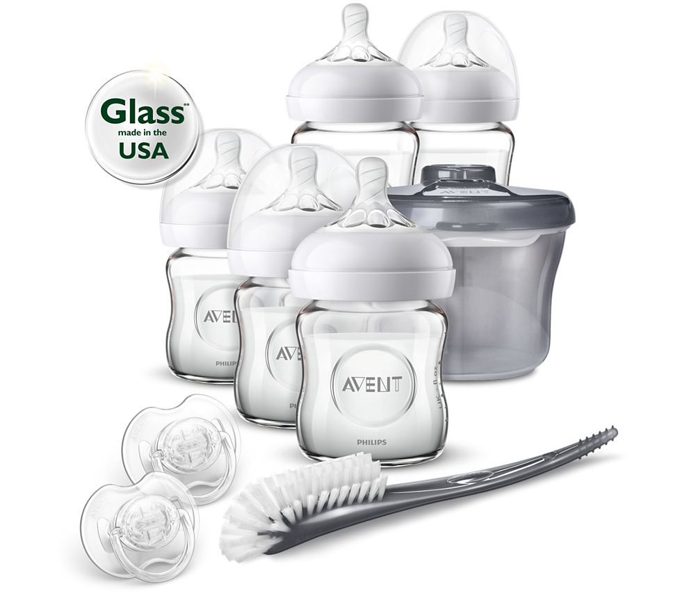 Philips Avent Newborn Glass Starter Set