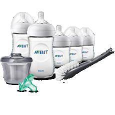 SCD206/02 Philips Avent Natural Baby Bottle Newborn Starter Gift Set