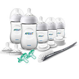 Avent Natural Baby Bottle Newborn Starter Gift Set