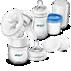 Avent Ръчна помпа за кърма и комплект за съхранение