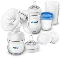 Avent Still-Set mit manueller Milchpumpe