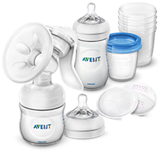 SCD221/00 Philips Avent Manual Breast Pump and Store Set