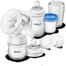 SCD221/00 Philips Avent Kit tire-lait manuel, accessoires de conservation