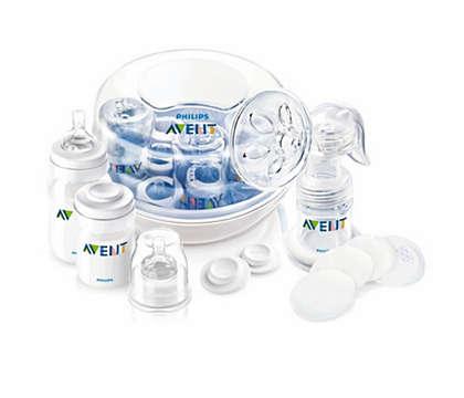 Breastfeeding and sterilizing essentials