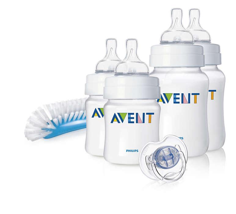 Помага ви да успокоите бебето, особено през нощта*