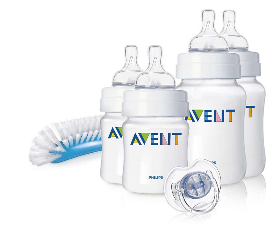 Diminue l'irritabilité de bébé, surtout la nuit*