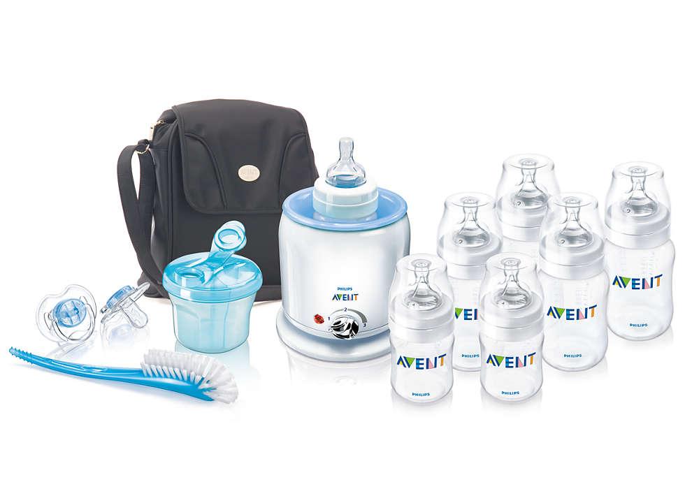 Solutions d'allaitement au biberon