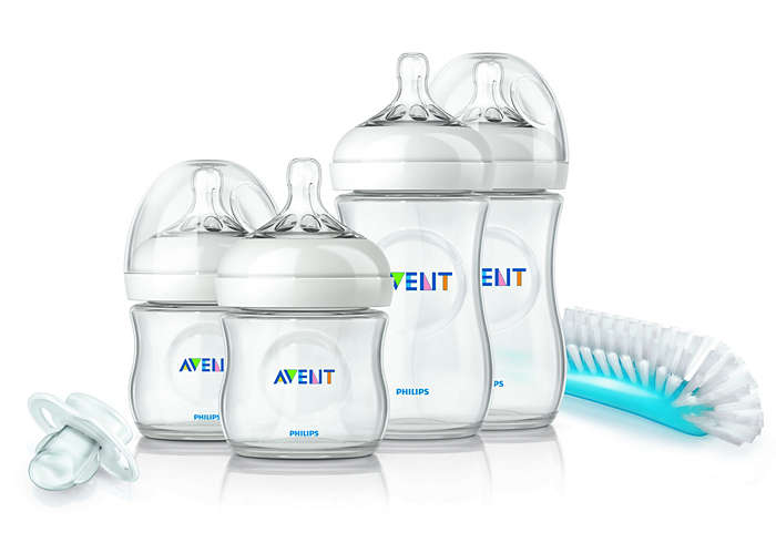 The natural way to start bottle feeding