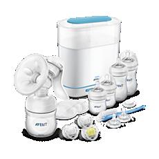 SCD293/00 - Philips Avent  Handmilchpumpen-Set mit Sterilisator