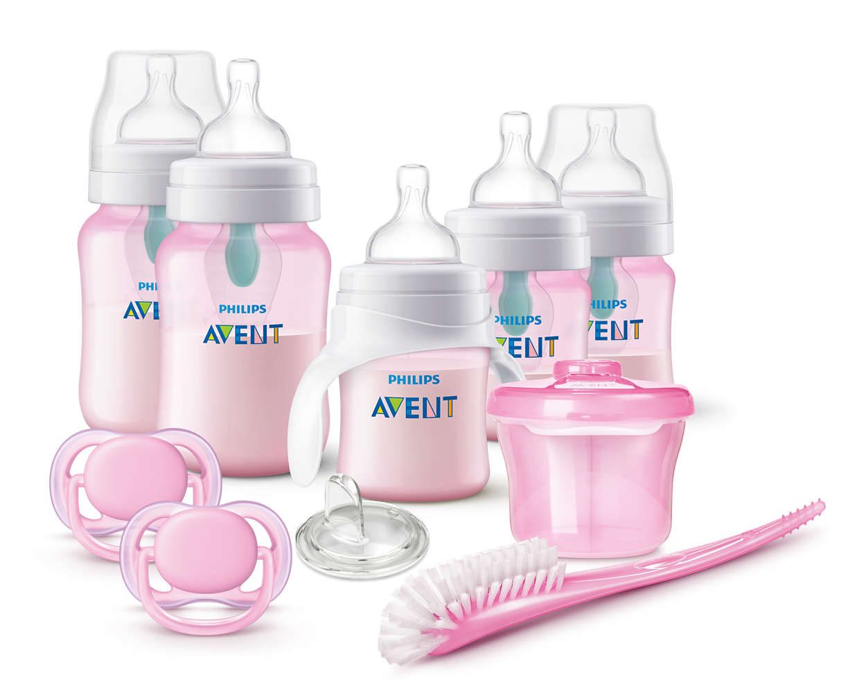 Anti Colic Bottle With Airfree Vent Gift Set Scd393 04 Avent