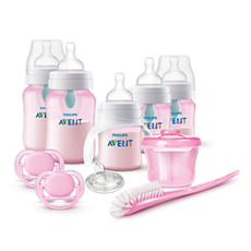 SCD393/04 - Philips Avent  Anti-colic Bottle with AirFree vent Gift Set