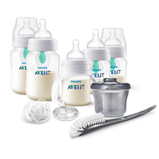SCD394/02 Philips Avent Anti-colic Bottle with AirFree vent Gift Set