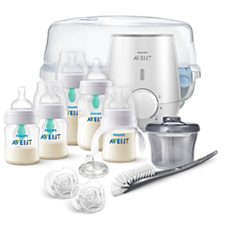 SCD397/02 Philips Avent Anti-colic Bottle with AirFree vent Gift Set