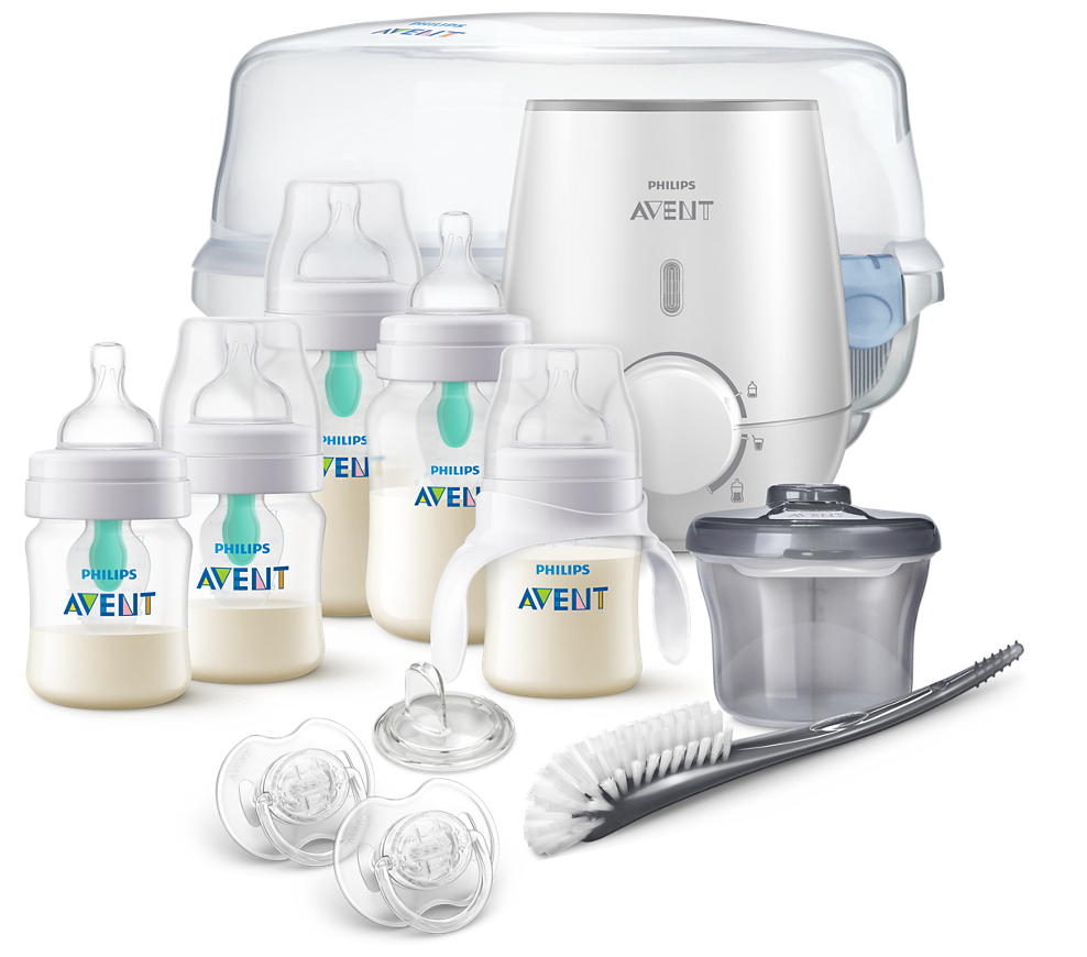 Philips Avent Anti-colic Bottle With AirFree Vent All in One Set