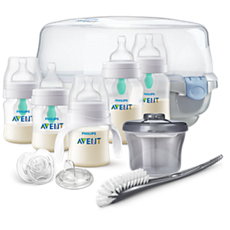 SCD398/02 Philips Avent Anti-colic Bottle with AirFree vent Gift Set