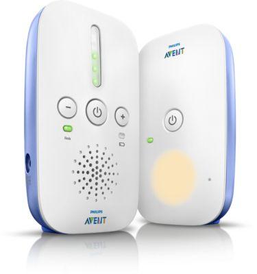 Buy 100% privat forbindelse, DECT-babyalarmSCD501/00 online | Philips Shop