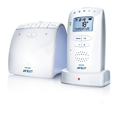 SCD520/00 Philips AVENT DECT baby monitor